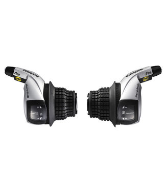 Shimano SL-RS45, TOURNEY 8 R&L REVO SHIFTER R 2050MM, L:1800MM 600 X 600 X 300MM BLACK OUTER, IND.PACK