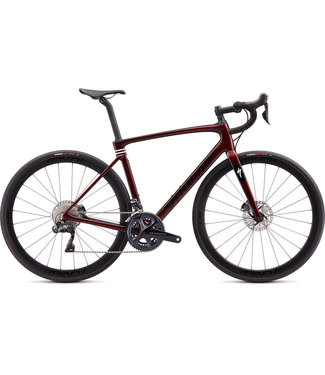 Specialized ROUBAIX EXPERT ULT Di2 - BOURGOGNE - 56