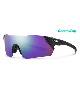 Smith Optics Attack MAG Matte Black ChromaPop Violet Mirror ChromaPop Contrast Rose