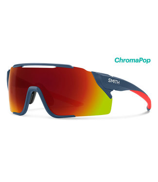 Smith Optics Attack MAG MTB Matte Mediterranean ChromaPop Red Mirror ChromaPop Low Light Amber