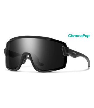 Smith Optics Wildcat Matte Black ChromaPop Black Clear