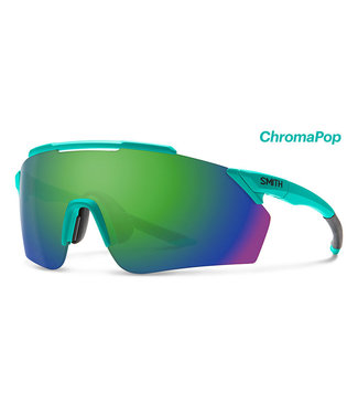 Smith Optics Ruckus Matte Jade ChromaPop Green Mirror ChromaPop Contrast Rose