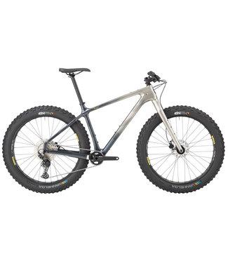 "SALSA Salsa Beargrease Carbon Deore 11spd Fat Bike - 27.5"", Carbon, Gray Fade, Medium"