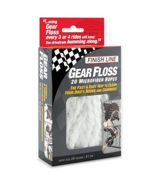 Finish Line GEAR FLOSS KIT DE 20 PCS