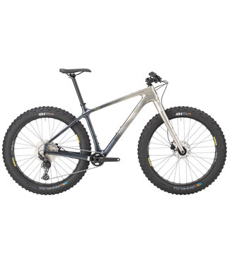 "SALSA Salsa Beargrease Carbon Deore 11spd Fat Bike - 27.5"", Carbon, Gray Fade, X-Small"