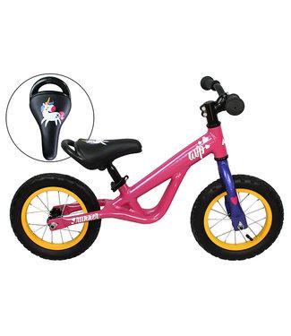 AVP Runner bike - ''Licorne'' -  Rose / Mauve  - Roues 12'' - Fille