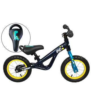 AVP Runner bike - ''Dino''  - Marine / Turquoise- Roues 12'' - Garçon