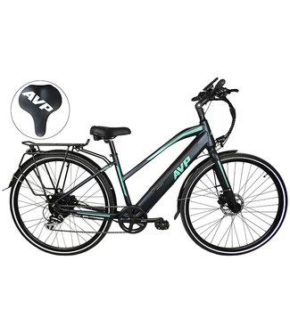 AVP HE-1000 - Vélo électrique - Marine foncé / Turquoise - Femme - 15''