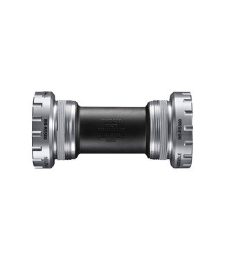 Shimano BOTTOM BRACKET PARTS, BB-RS500, RIGHT & LEFT ADAPTER(BSA), BEARING, IND.PACK