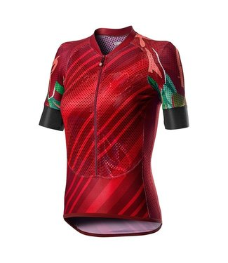 Castelli MAILLOT CLIMBERS F ROUGE M
