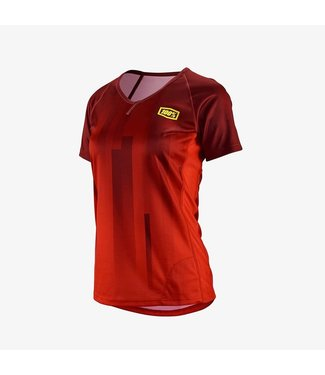 100% JERSEY 100% AIRMATIC FEMME ROUGE l
