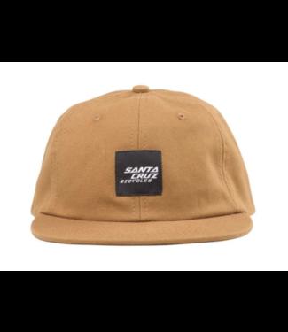 Santa Cruz Wrigley Snapback Hat Brick