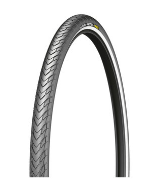 MICHELIN Michelin, Protek Max, Pneu, 700x35C, Rigide, Tringle, Protek 5mm, Reflex, 22TPI, Noir