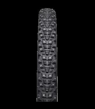 45NRTH 45NRTH Kahva Tire - 27.5 x 2.1, Tubeless, Folding, Black, 60tpi, 240 Concave Carbide Studs