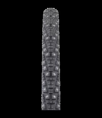 45NRTH 45NRTH Gravdal Tire - 700 x 38, Tubeless, Folding, Black, 60tpi, 252 Concave Carbide Studs
