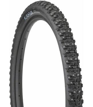 45NRTH 45NRTH Kahva Tire - 29 x 2.25, Tubeless, Folding, Black, 60tpi, 252 Concave Carbide Studs