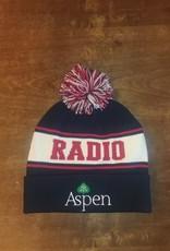 RADIO ASPEN POM BEANIE