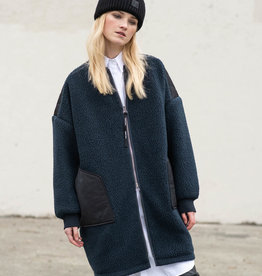 HOLDEN WOMENS LONG SHEARLING COAT