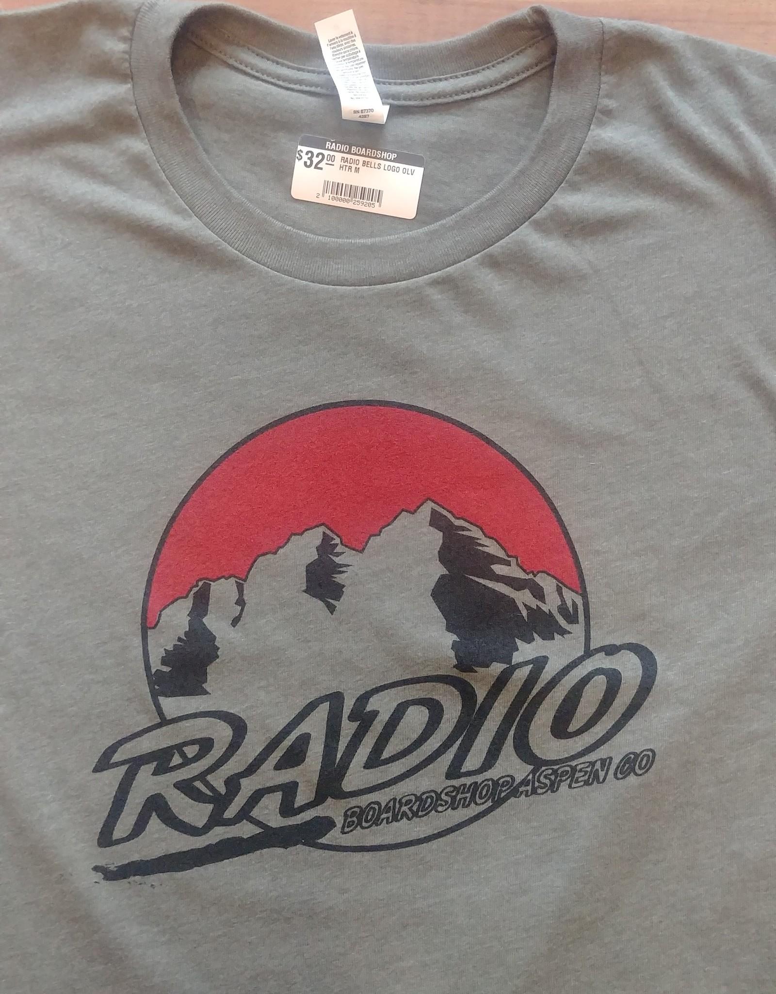 RADIO MAROON BELLS LOGO TEE