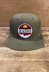 RADIO SUNSET LOGO PERFORATED HAT