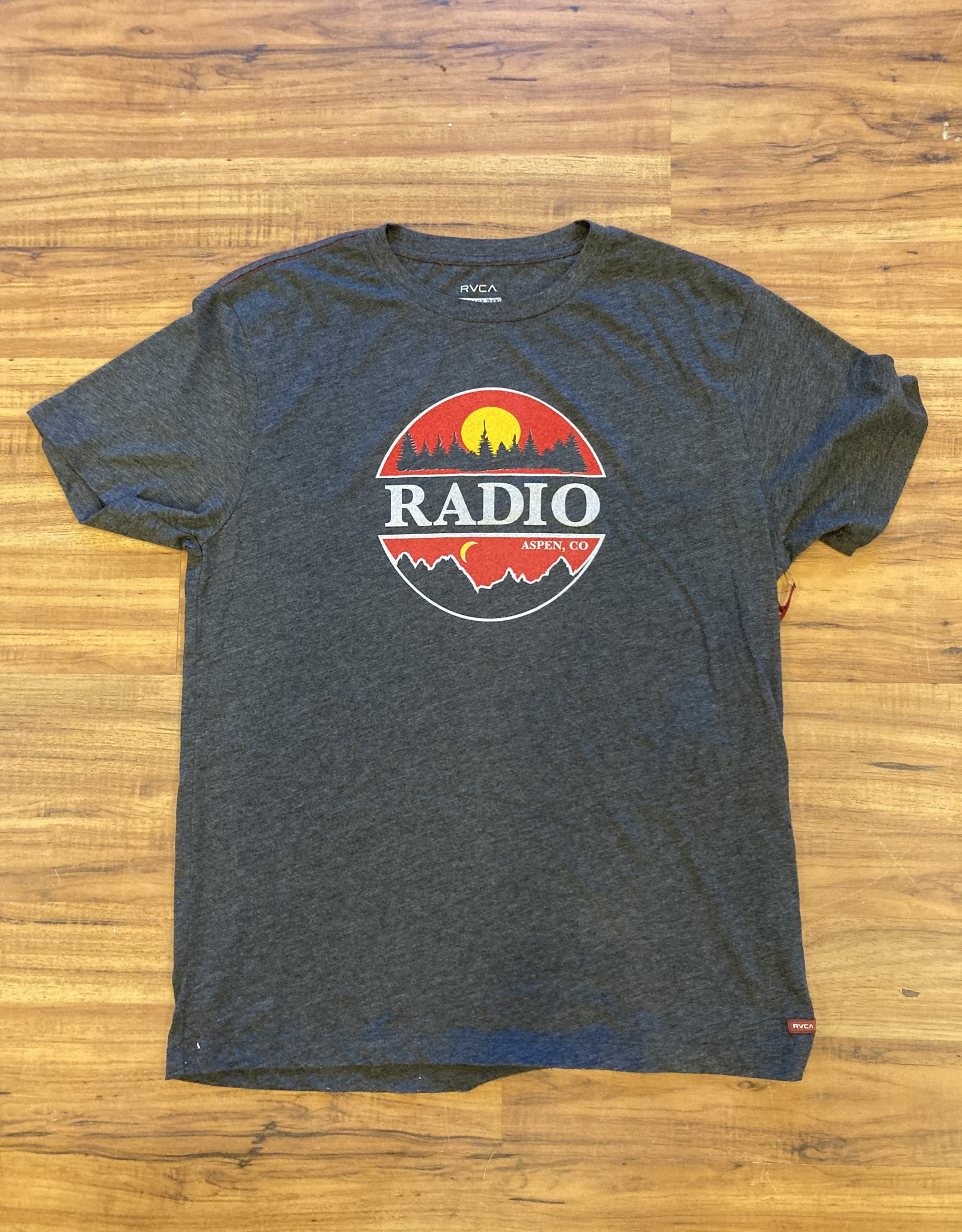 RADIO SUNSET RVCA TEE