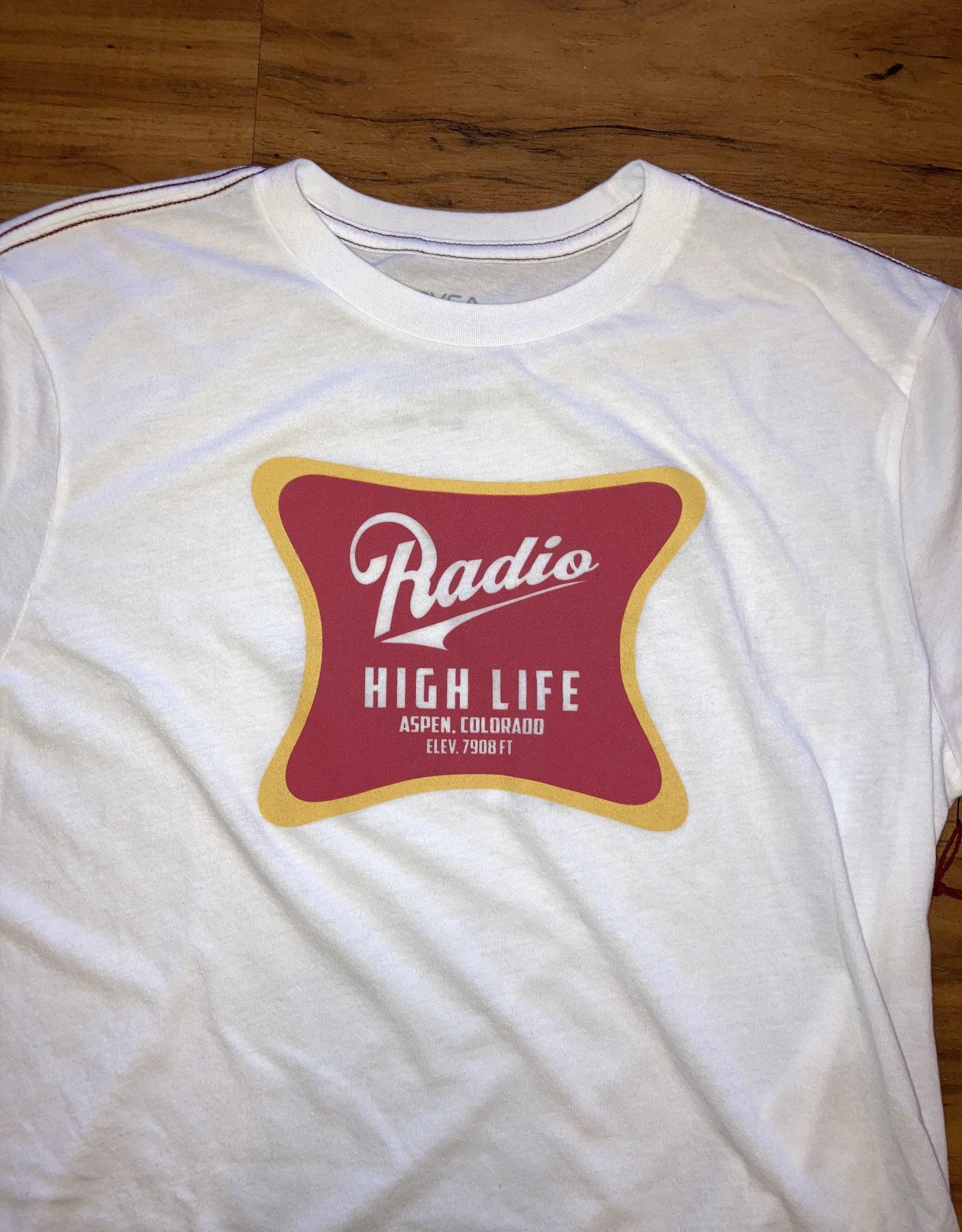 RADIO HIGH LIFE RVCA TEE