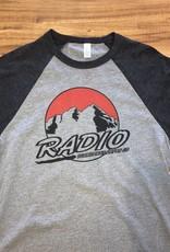 RADIO MAROON BELLS 3/4 LENGTH TEE