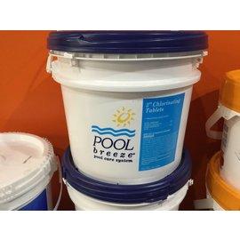 """Poolife 3"""" Chlorine Tabs 25 lbs. pool breeze"""