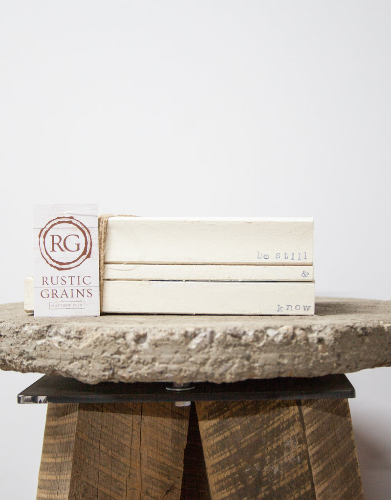 Custom Stamped Books