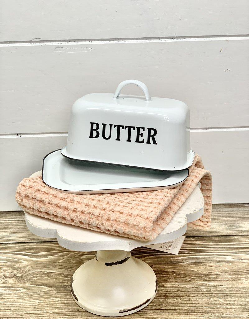 Enamel Butter Dish