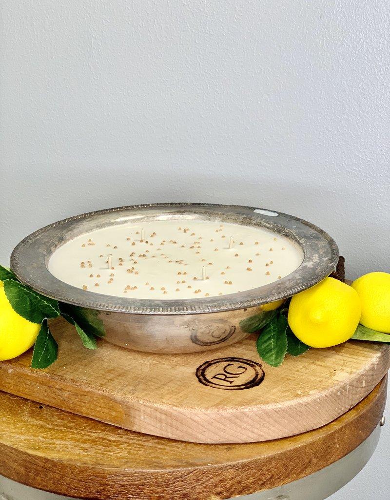 Sweet Lemon -44oz Server- gg's mustard seed candle jars