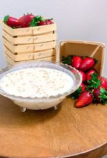Summertime Berries 11oz glass bowl- gg's mustard seed