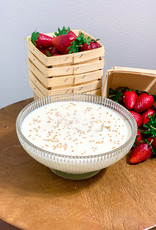 Summertime Berries 18oz glass bowl- gg's mustard seed