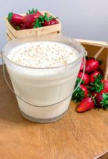 Summertime Berries 34oz glass mug- gg's mustard seed