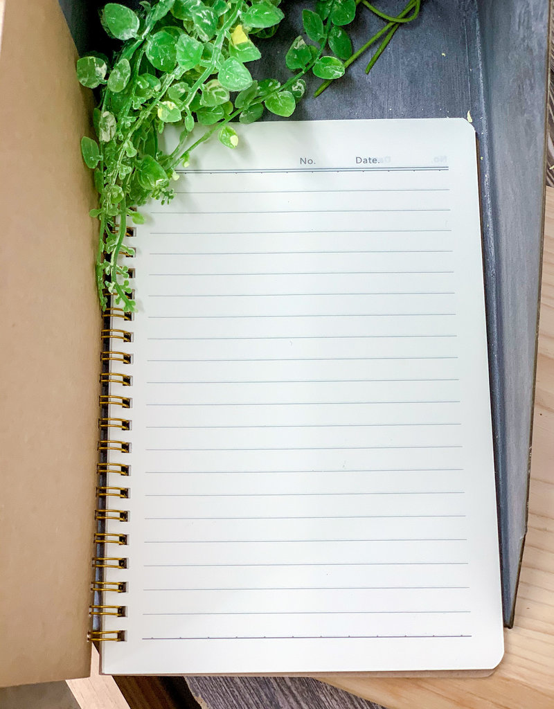 RG Lined Notebook