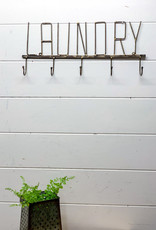 Laundry Wall Rack