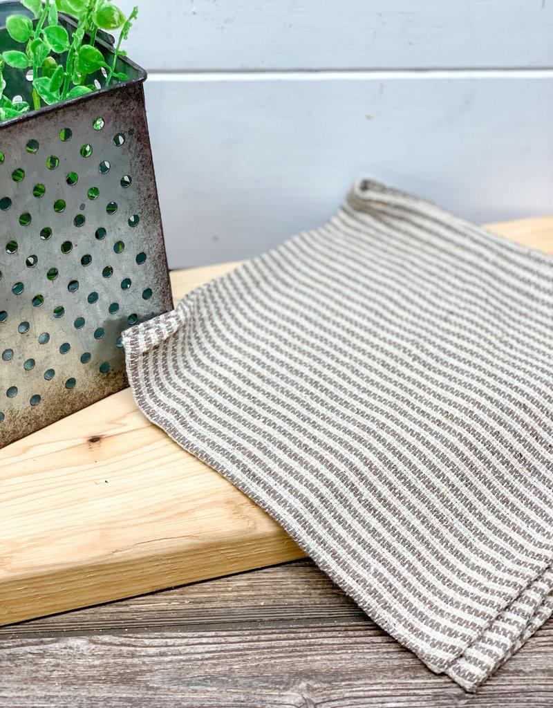 Gray Stripped Pattern Cloth