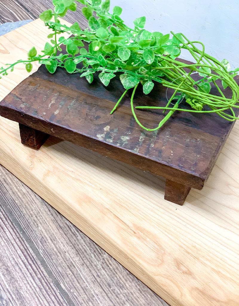 Repurposed Wooden Riser