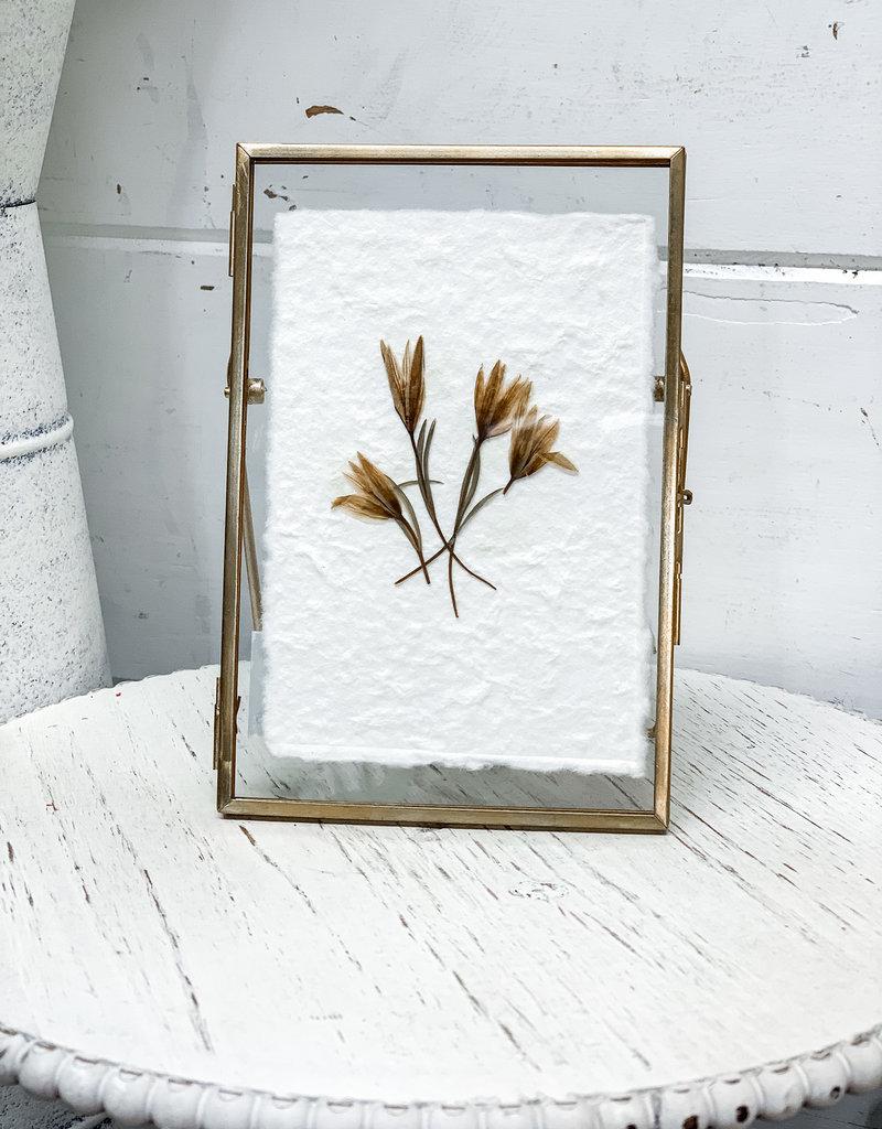 "Floating Frame | Wildflower | 6"""
