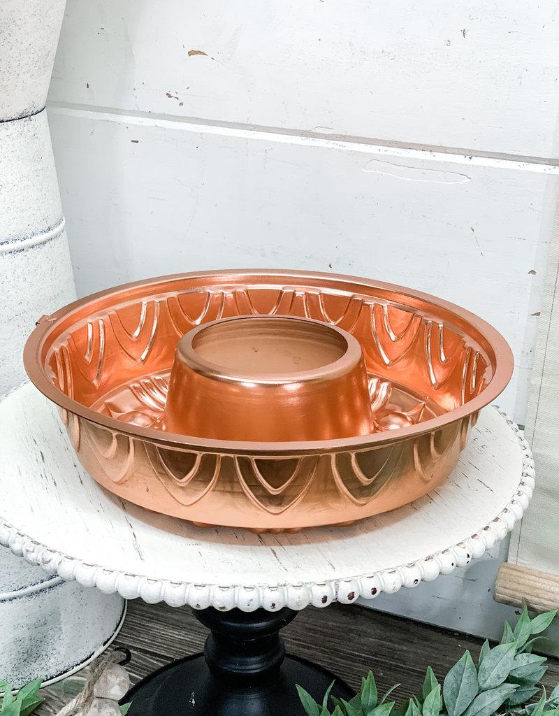 Vintage Copper Jello Mold