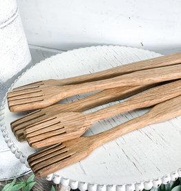 Vintage Wooden Forks