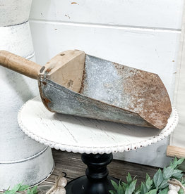 Vintage Metal Farming Scoop