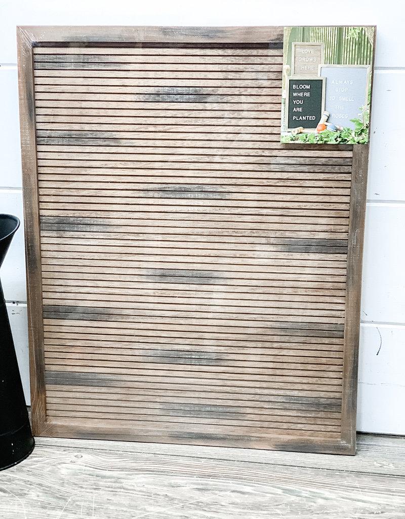 16x20 Wood Letter Board