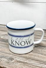 Be Still & Know Camp Mug