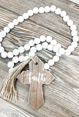 Wooden Beads | Faith