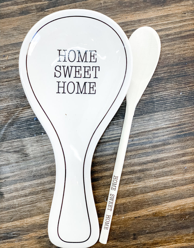 Home Sweet Home Spoon Rest