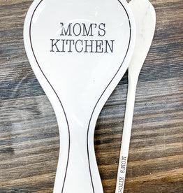 Mom's Kitchen Spoon Rest