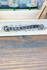 Greenhouse Garden Box