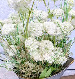 White Wildflowers | 24""