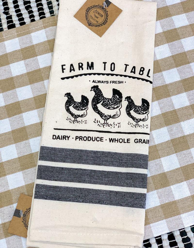Farm to Table Towel